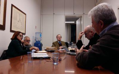 Prima riunione del Comitato scientifico