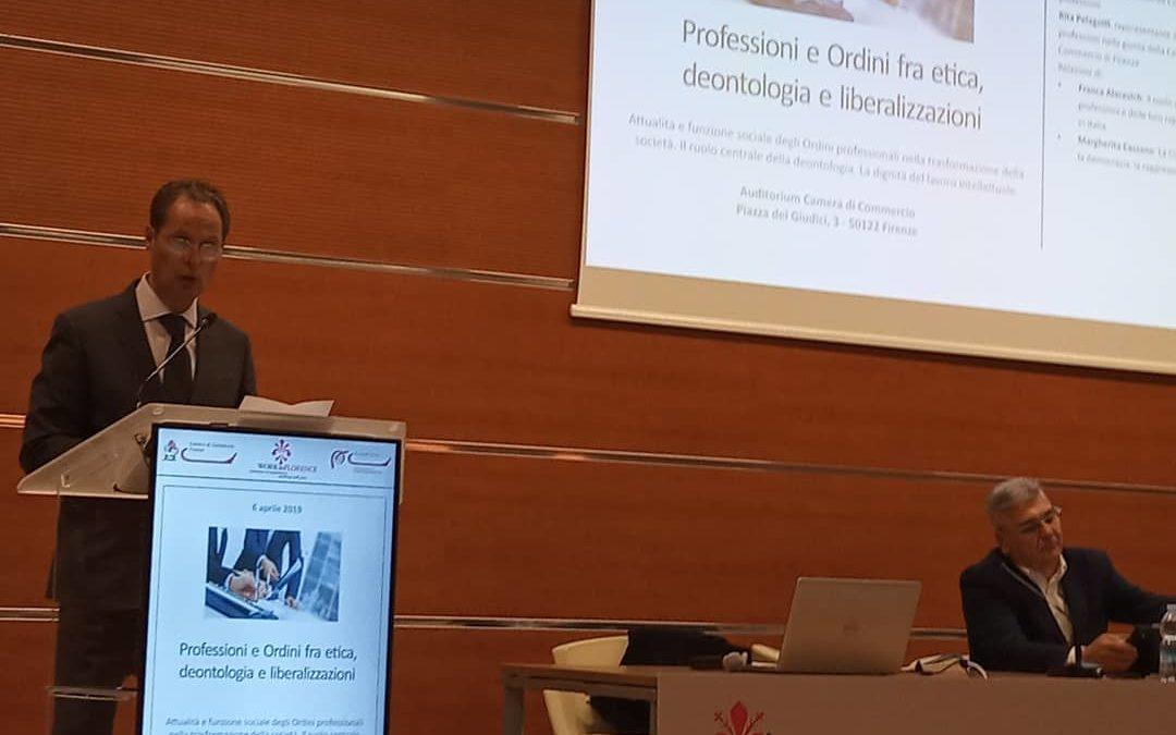 """Carlo Bartoli: """"Urgente la riforma degli ordini professionali"""""""